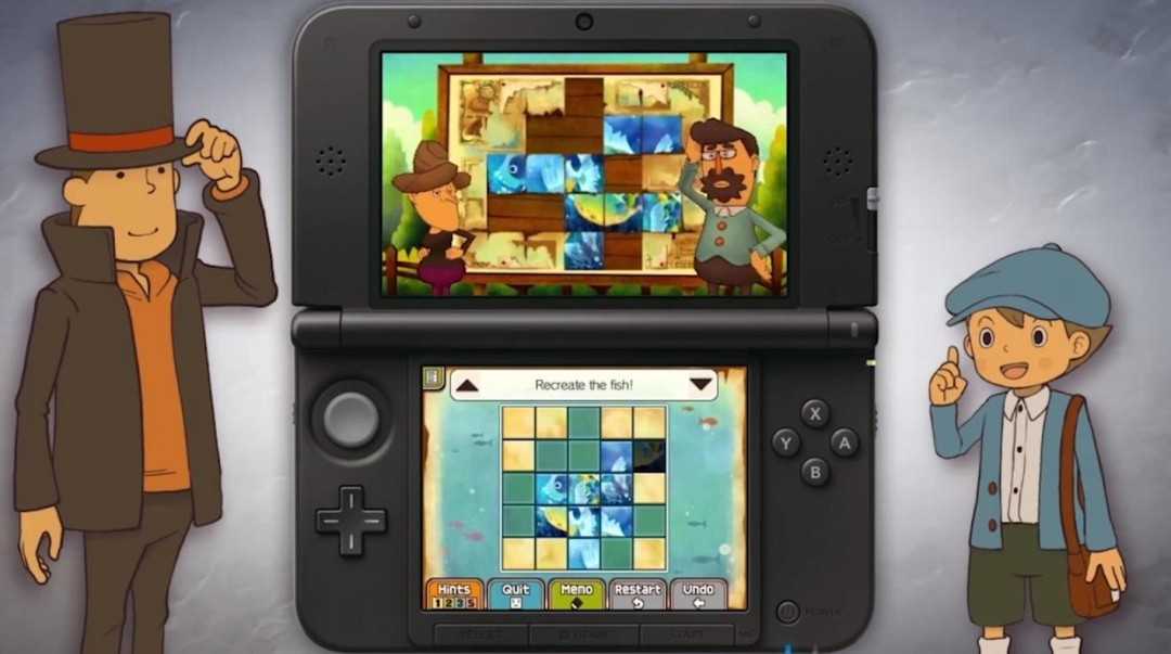 professor layton and the azran legacy for nintendo 3ds