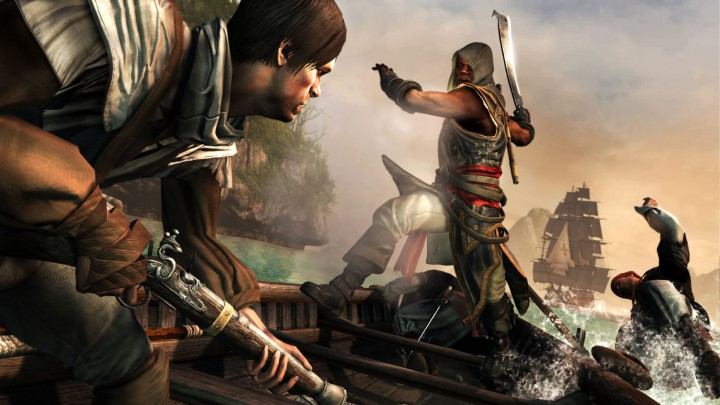Breaking chains and chopping off limbs seems to be at the heart of Assassin's Creed: Freedom Cry.