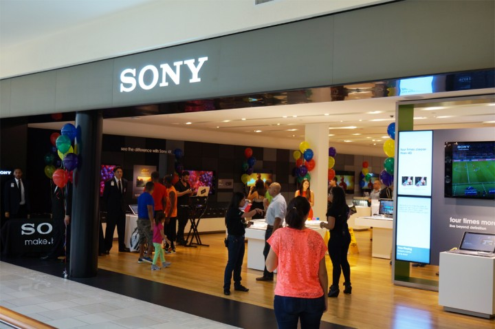Sony shuts down stores in the US to reduce global workforce
