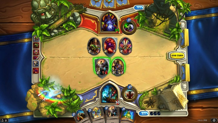 Hearthstone is a great card-game, and it's quite addictive