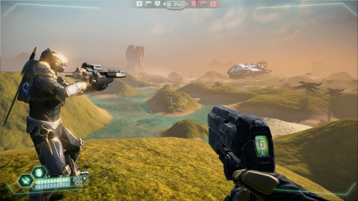 Tribes: Ascend includes gorgeous world, brought to life by a capable engine.