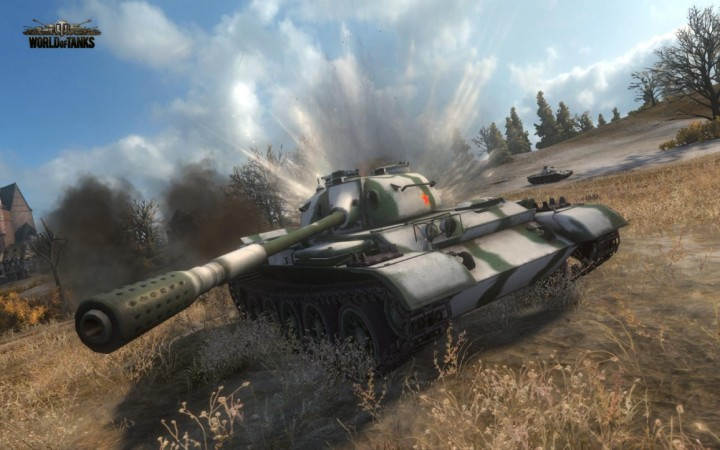 World of Tanks, vehicular warfare at its best!