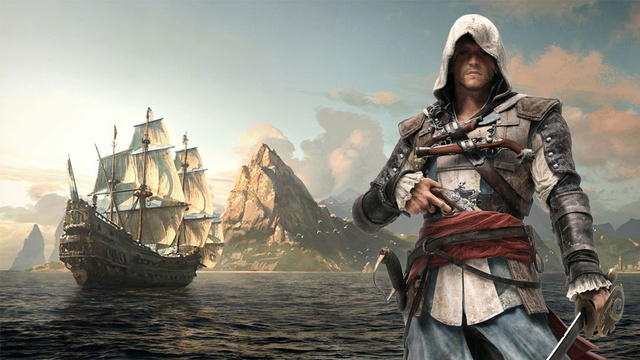 Assassin's Creed 4: Black Flag Guild of Rogues DLC is Now Available