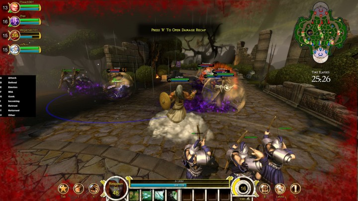 Smite is your standard MOBA, with a more down-to-earth camera and increased mobility!