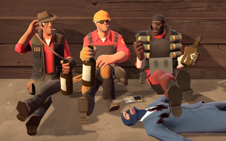 Team Fortress 2 certainly doesn't lack humor!