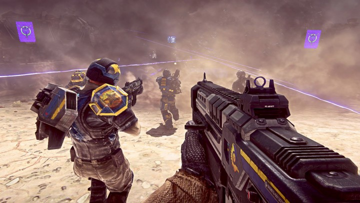 For a F2P title, Planetside 2 looks stunning