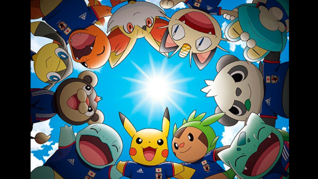 Pikachu to be at the 2014 FIFA World Cup?!
