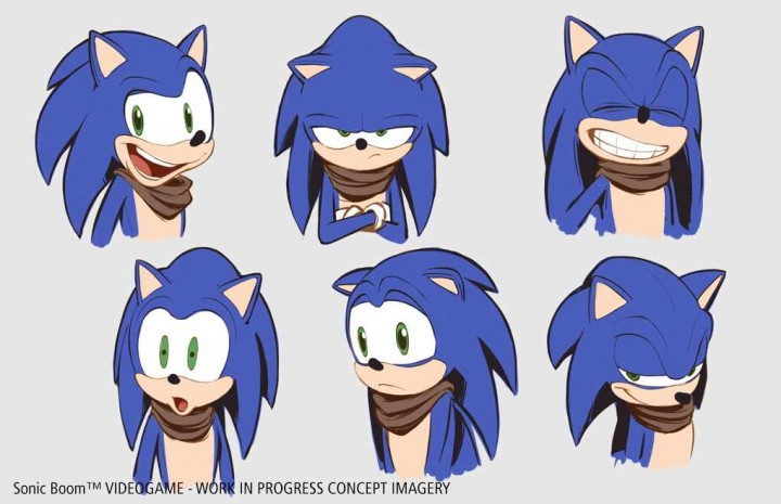 "Sonic Boom could've looked a lot weirder; first designs were ""crazy"""
