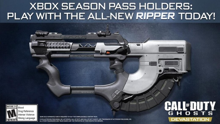 Call of Duty: Ghosts Devastation Map Pack Announced, New Weapon Available