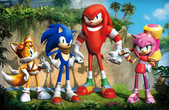 Sonic Boom Developers Designs 'Traumatized' Visiting Team Sonic Boss