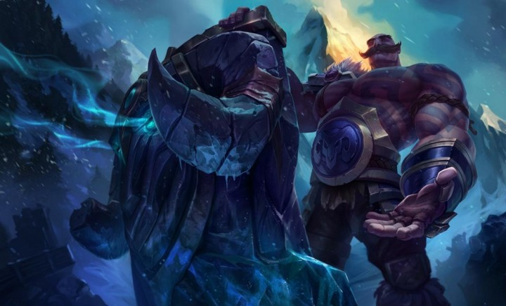 New League of Legends gameplay with Braum, the new tanky support, revealed