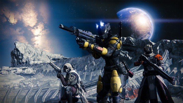 Destiny's new trailer reveals armors and weapons