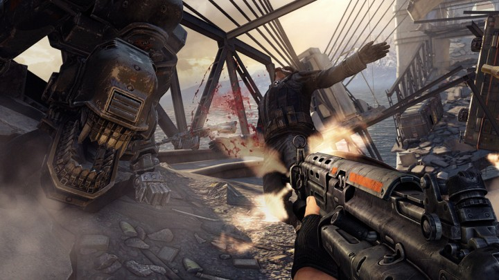 Check out the system requirements for Wolfenstein: The New Order
