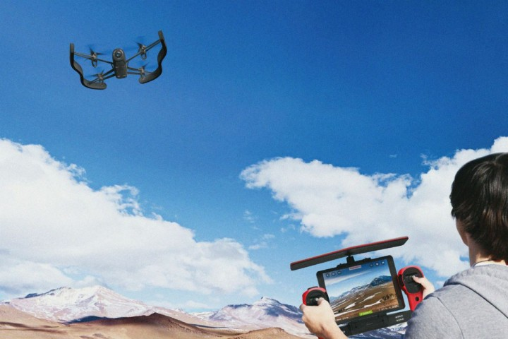 Parrot's Bebop Drone uses Oculus Rift to provide first person view.