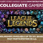 League of Legends players receiving scholarships for their performance