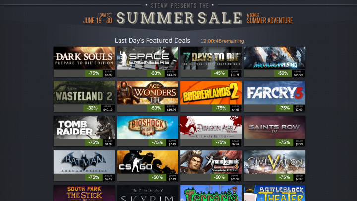Steam Summer Sale 2014 - Top 10 Picks Before It Ends