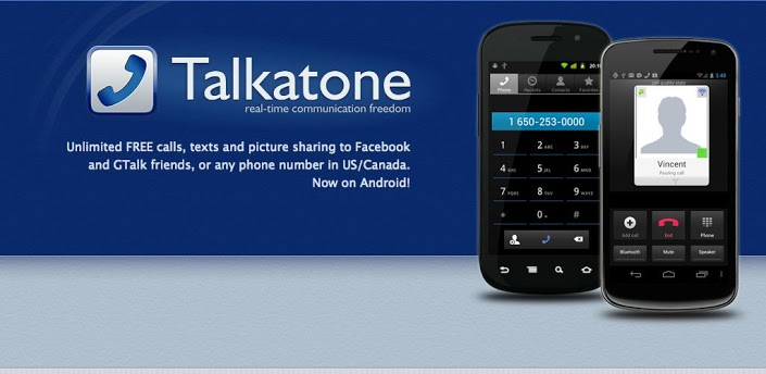 Free and unlimited SMS with Talkatone