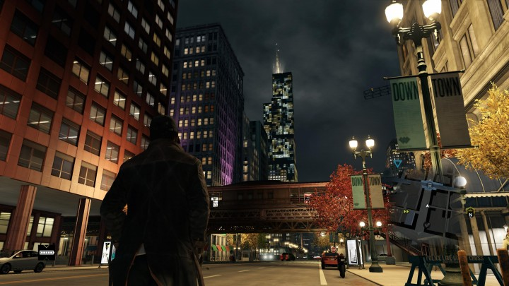 Watch Dogs night screenshot