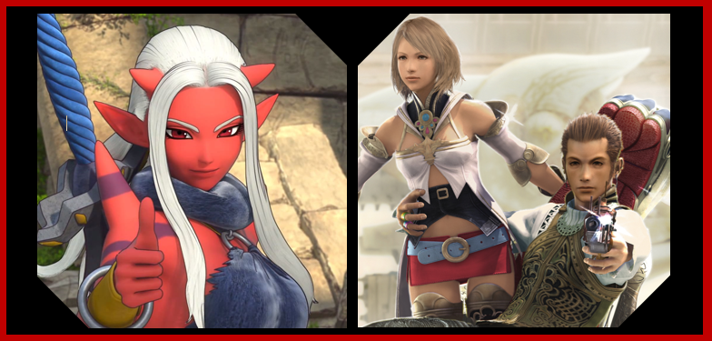 Dragon Quest 10 and Final Fantasy XII