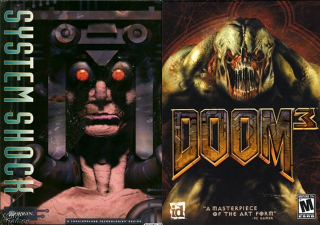 Doom beat System Shock, System Shock shaped Doom 3