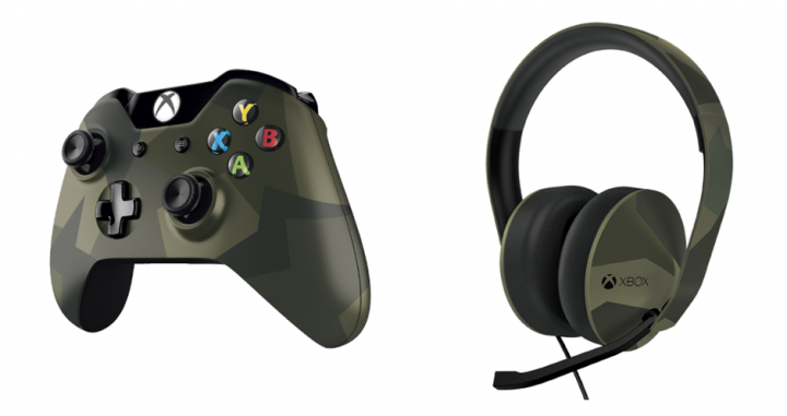 Armed Forces Controller and Headset announced for Xbox One