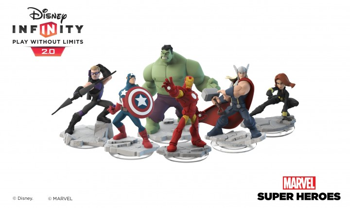PlayStation Gets Exclusive Disney Infinity: Marvel Super Heroes Collector's Edition