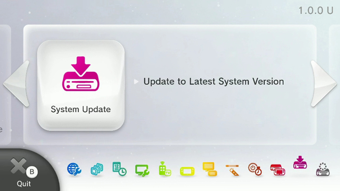 Wii U Latest Update: System Transfers and Wii Remote Enabled Shopping