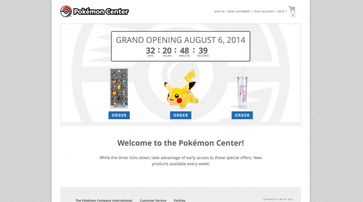 Pokemon Store Online – Buy PokeMerch Starting This August!