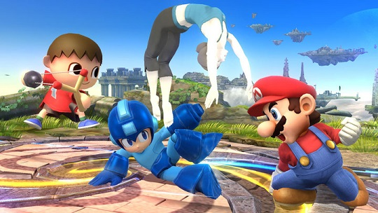 Galaga Character Makes Item Cameo In New Super Smash Bros.