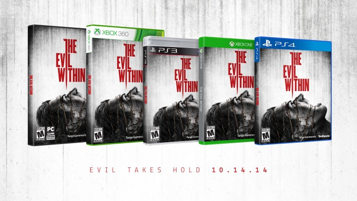 Vote for The Evil Within Alternate Cover Art