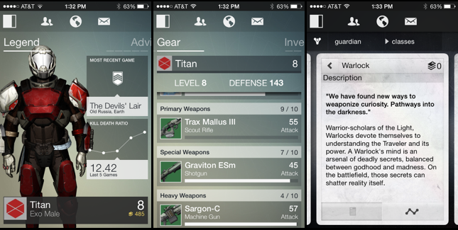 Destiny Companion App Has Plenty of Player Potential
