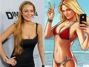 Is GTA 5 guilty of using Lindsay Lohan's likeness without permission?