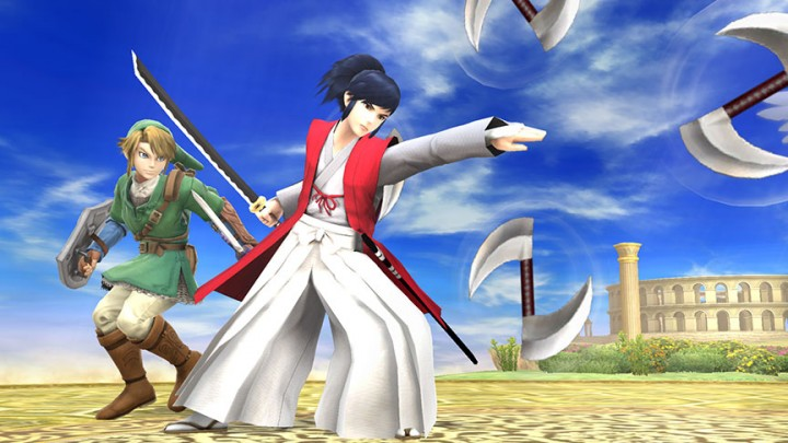 Takamaru assist his way into Super Smash Bros