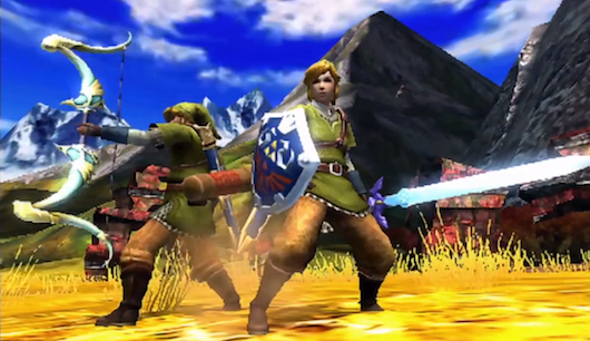 "Monster Hunter 4 Features ""Link"" Costume & Weapons"