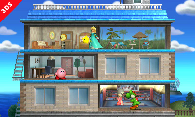 Super Smash Bros. For 3DS Gets Tomodachi Life and Paper Mario Stages