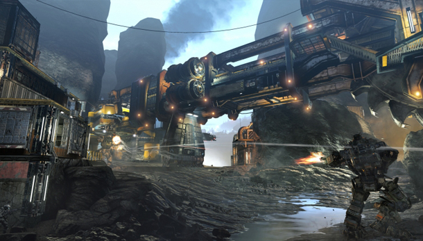 The latest Titanfall DLC Frontier's Edge launches July 31st