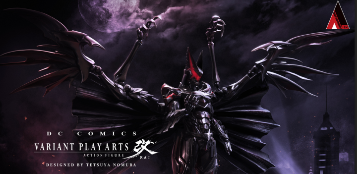 Batman Art Design: A Kingdom Hearts Touch