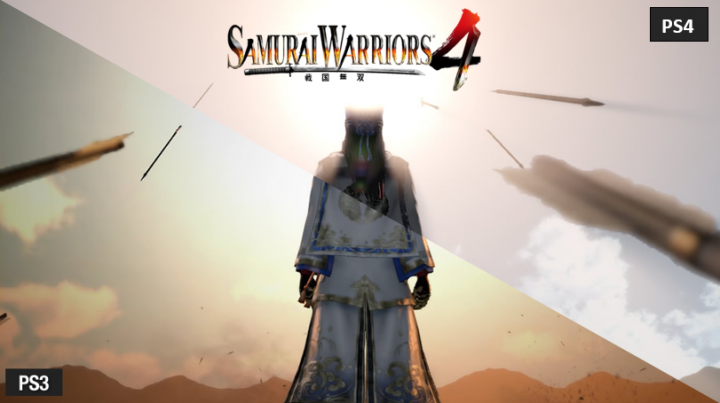 Samurai Warriors 4: PS3 vs PS4 Screenshots