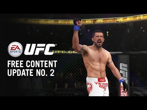Three new fighters have arrived in the latest EA Sports UFC update