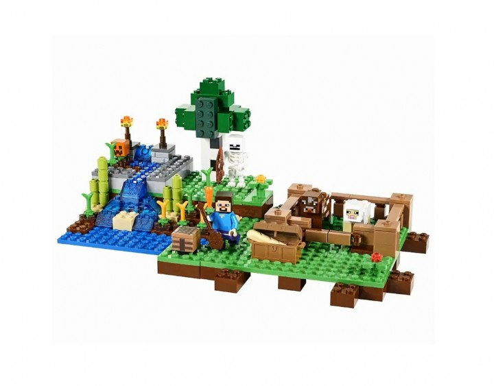 Should Have Seen this Coming: Minecraft Lego!