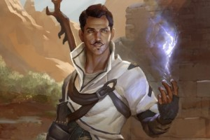 A picture of gay Dragon Age: Inquisition character, Dorian