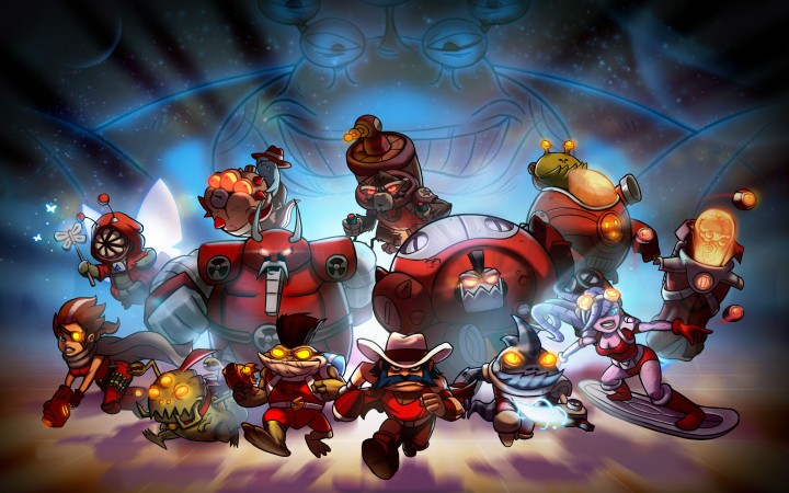 Awesomenauts: Assemble! PS4 Box Art Will Be Chosen By The Community