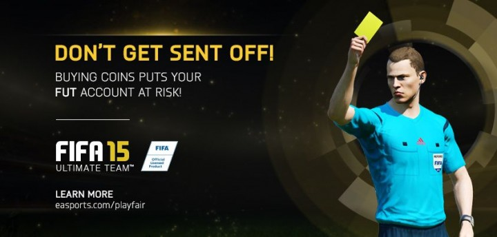 EA Sports Crackdown on Fifa Coin Sellers