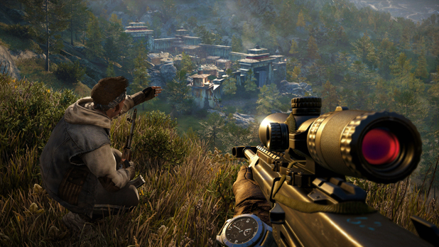 You'll be able to play co-op Far Cry 4 for free only on PlayStation