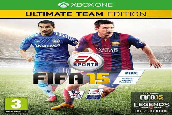 Eden Hazard Features on the UK Cover of FIFA 15