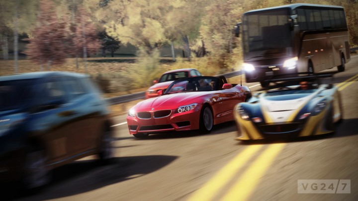 Forza Horizon 2 is taking advantage of Next-Gen capabilities