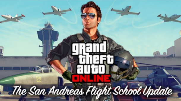 Grand Theft Auto Online's San Andreas Flight School Update