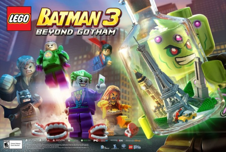 Lego Batman 3: Beyond Gotham's New Brainiac Trailer