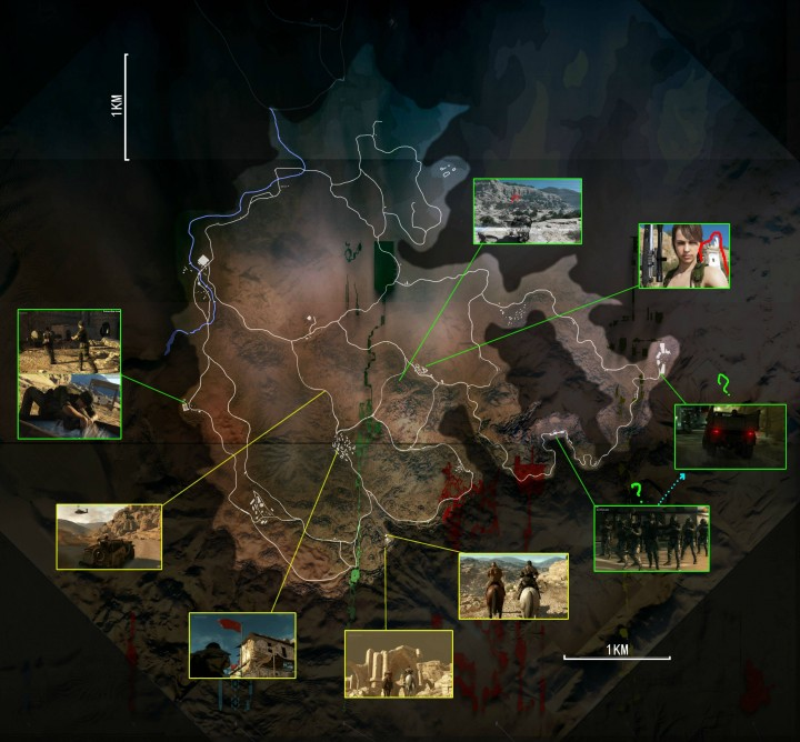 Metal gear solid 5 africa map