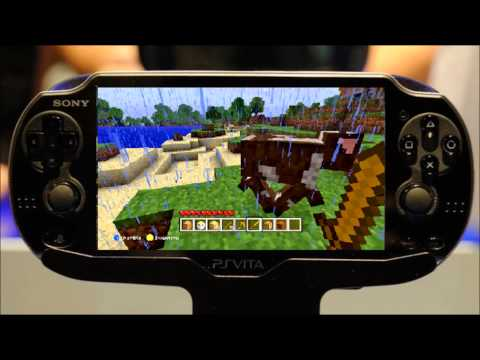 Minecraft Gameplay Trailer for PS Vita Revealed